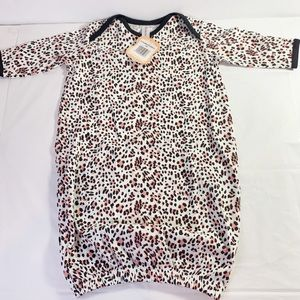 Belabumbum Baby Leopard Outfit (0-3mo)
